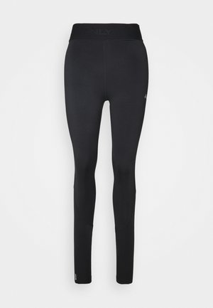 ONPGILL HISS BRUSHED TRAIN TIGHTS - Leggings - Trousers - black