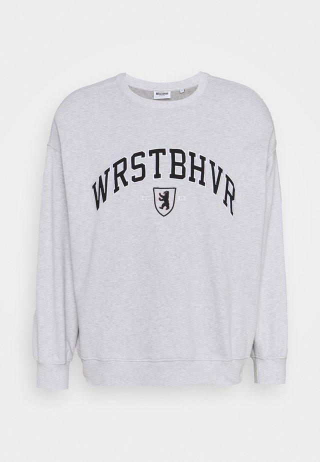 SWEATER BERLIN UNISEX - Sweatshirt - grey melange