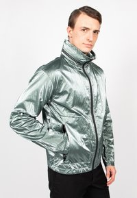 Freaky Nation - STEELBASE - Windbreaker - metal green - 3