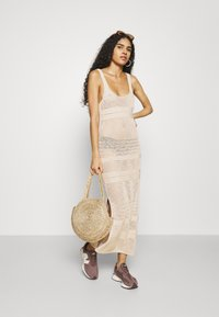 Abercrombie & Fitch - BARE - Jumper dress - cement - 1