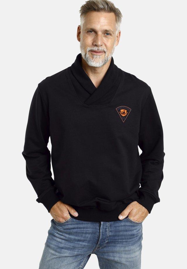 DETRIK - Sweatshirt - schwarz