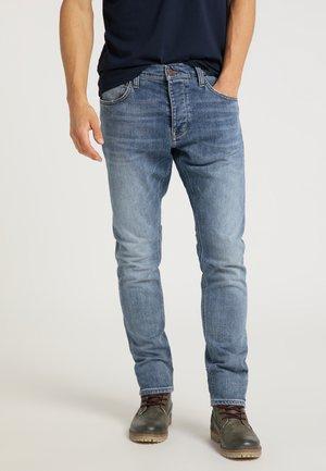 HARLEM - Jeans Tapered Fit - blau
