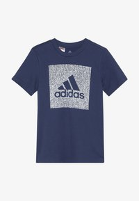adidas Performance - BOS BOX - Camiseta estampada - dark blue - 2