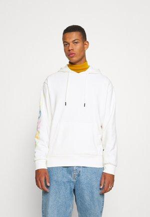 MANHATTEN HOODY - Sweatshirt - white