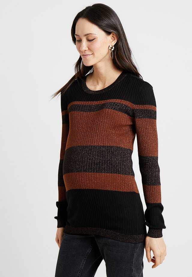 Pullover - friar brown