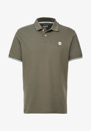TIPPED - Polo shirt - grape leaf