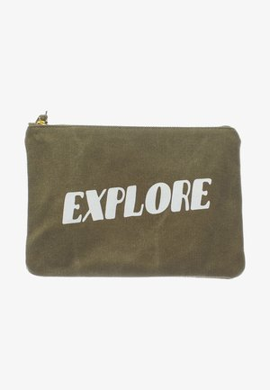 ZIPPER POUCH - Wash bag - explore