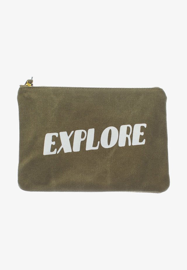 ZIPPER POUCH - Toilettas - explore