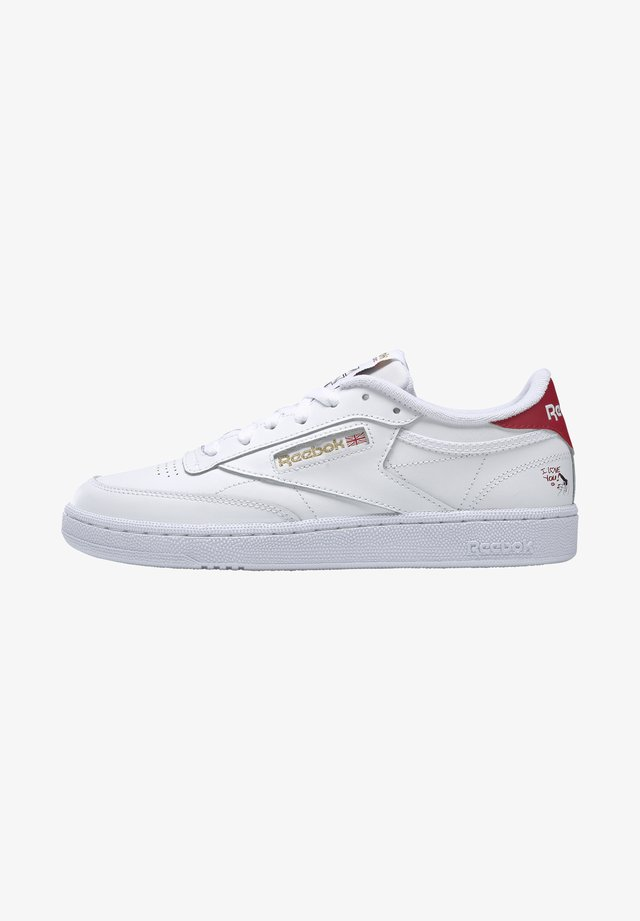 CLUB C 85 - Sneakers basse - white/gold metallic