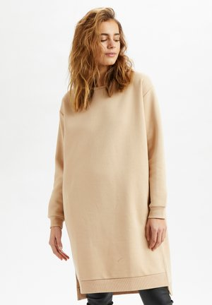 Jersey dress - sesame