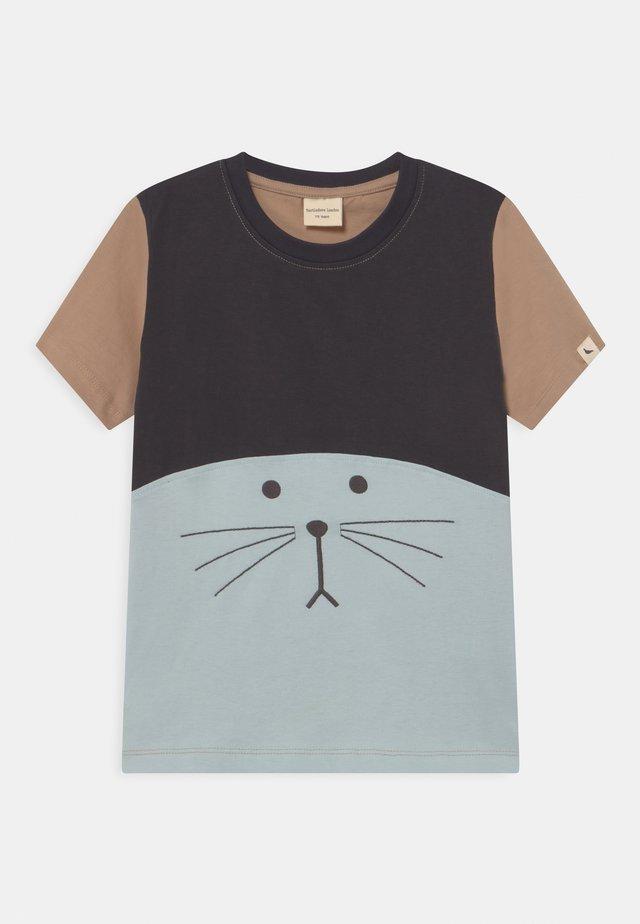 SEAL FACE UNISEX - T-shirt print - blue