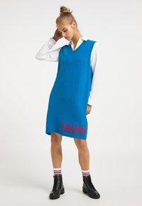 myMo - Jumper dress - classic blue - 1