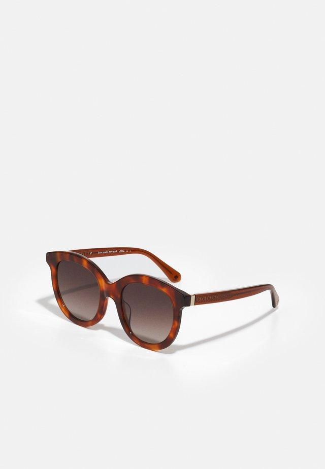 LILLIAN - Sluneční brýle - brown