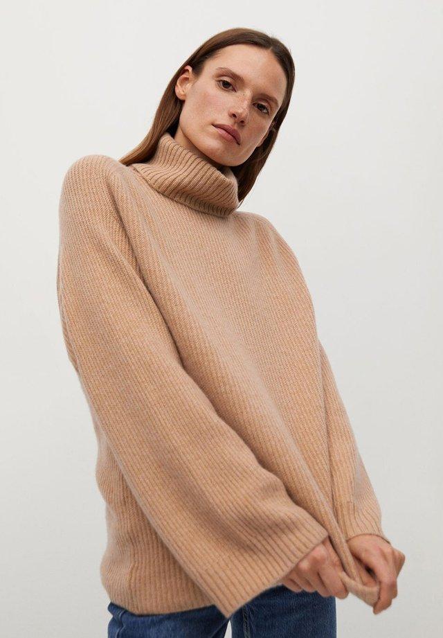 COCO - Sweter - středně hnědá