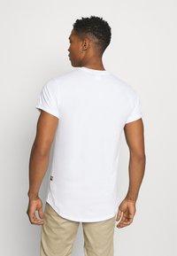 G-Star - LASH 2 PACK - Basic T-shirt - white - 3
