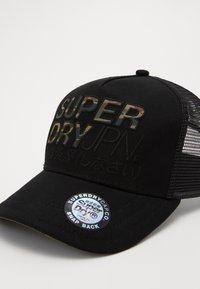 Superdry - LINEMAN TRUCKER - Cap - black - 2