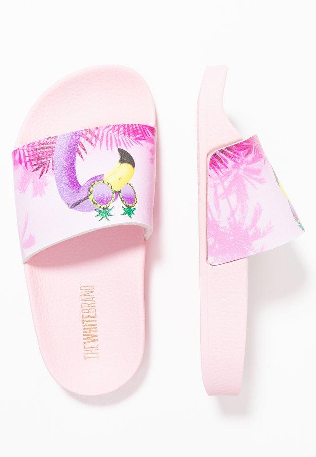 CLASSIC FLAMINGO - Pantolette flach - pink