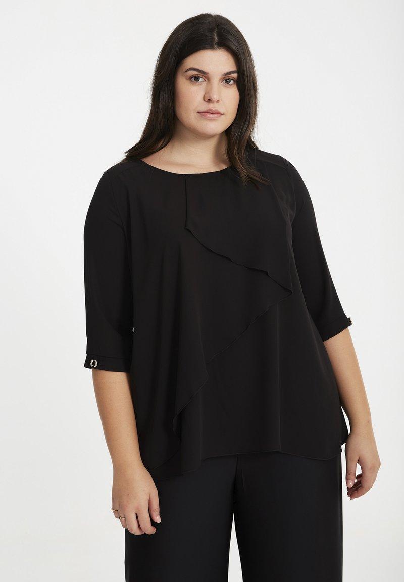 SPG Woman - MIT STUFENDESIGN - Blouse - black