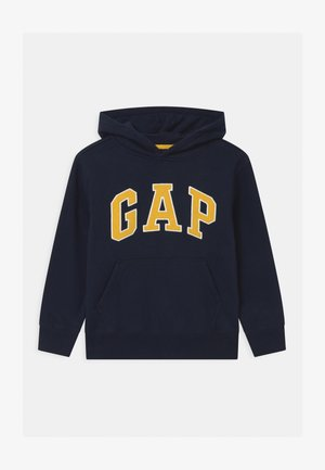 BOY NEW CAMPUS LOGO HOOD - Sweater - blue galaxy