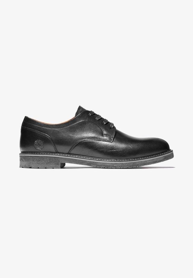 OAKROCK LT OXFORD - Zapatos con cordones - black full grain