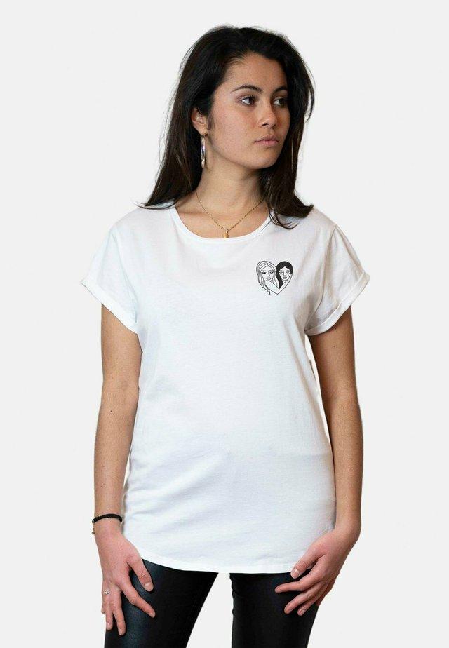 WTSRU - T-shirt imprimé - white