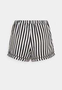Loungeable - STRIPED CAMI SET - Pyjama - black/white - 4