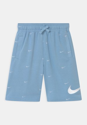 Short - psychic blue/white