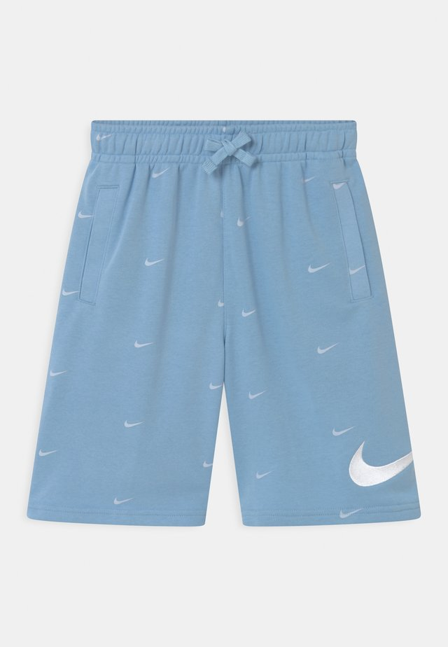 Shorts - psychic blue/white