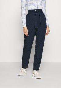 esmé studios - VIGGA PANTS - Pantalones - dark sapphire - 0
