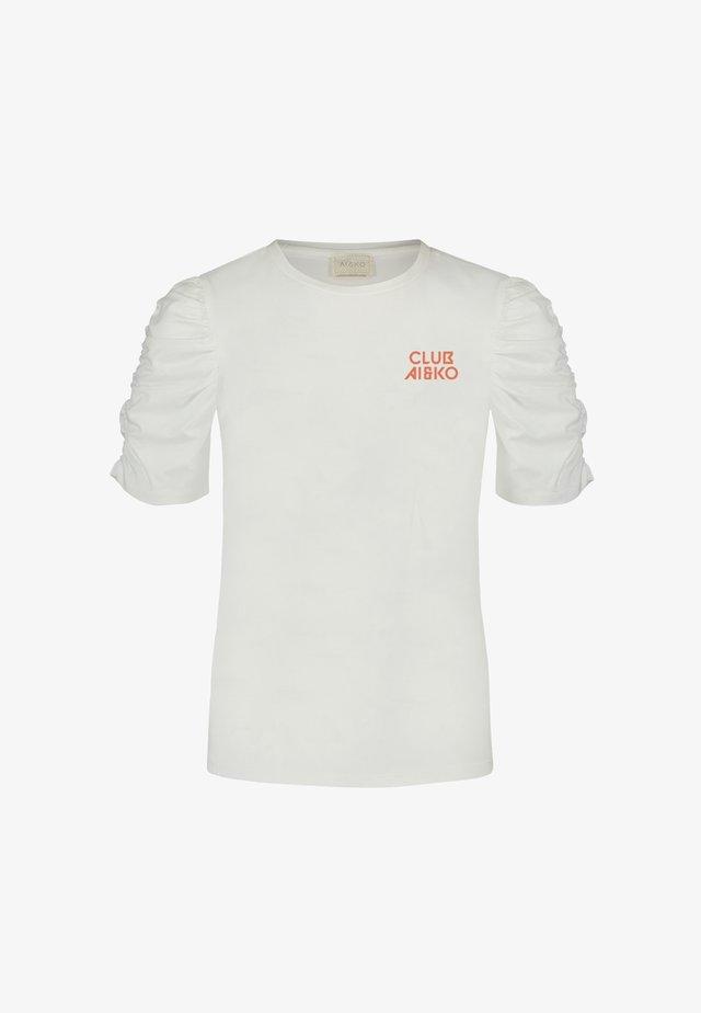 LIZZA - Print T-shirt - wit