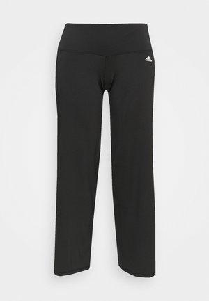 DESIGNED 2 MOVE AEROREADY SLIM - Tracksuit bottoms - black/white