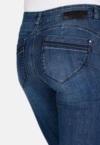 Cero & Etage - Slim fit jeans - medium blue w use - 3