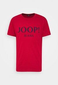 JOOP! Jeans - ALEX - Camiseta estampada - medium red - 0