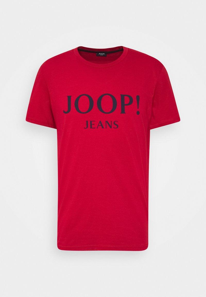JOOP! Jeans - ALEX - Camiseta estampada - medium red