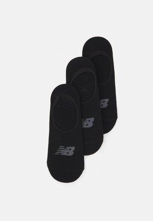 PERFORMANCE UNSEEN LINER SOCKS 6 PACK UNISEX - Trainer socks - black