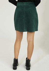 NAF NAF - A-line skirt - green - 2
