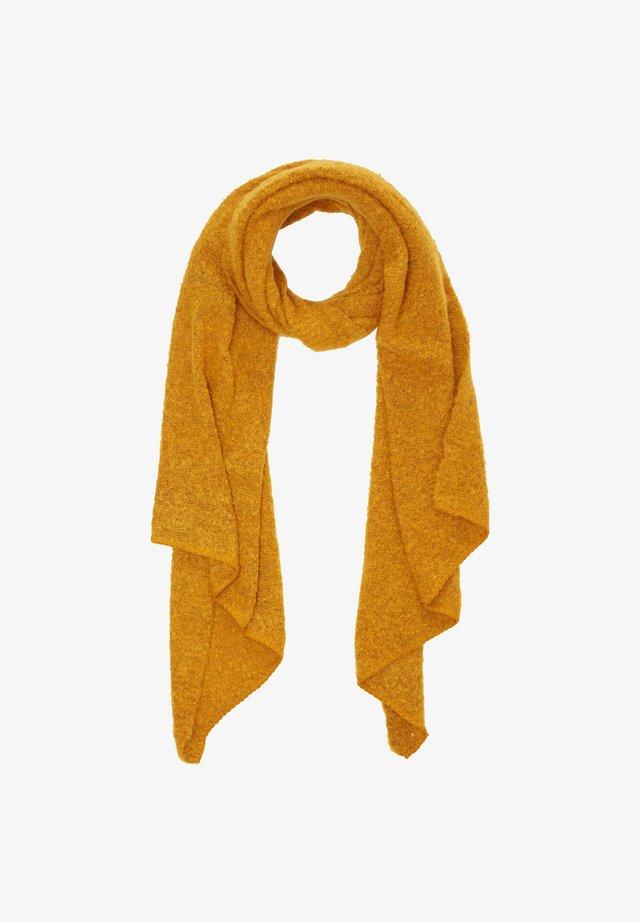 Scarf - golden yellow