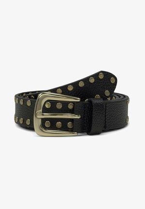 MIT NIETEN - Belt - black uni