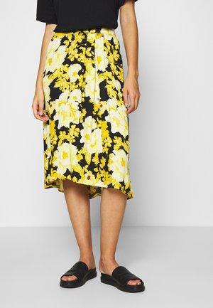 SRROSANNA MIDI SKIRT PRINTED - A-line skirt - multi-coloured