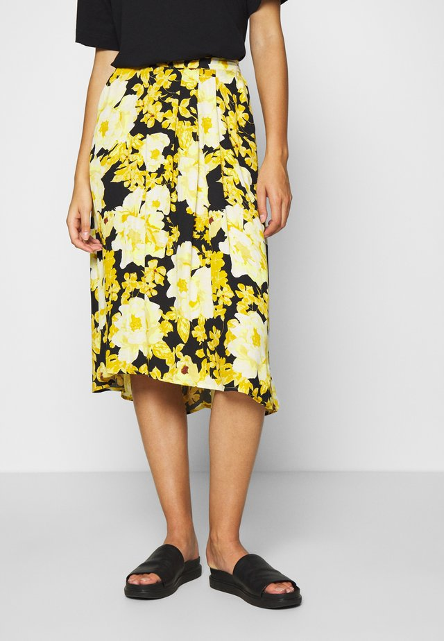 SRROSANNA MIDI SKIRT PRINTED - A-lijn rok - multi-coloured