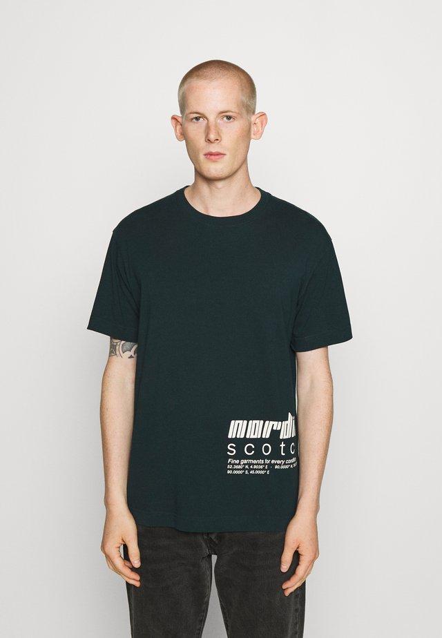 CLEAN ARTWORK  - Camiseta estampada - arctic teal