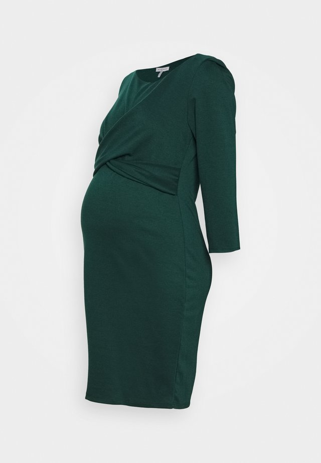 AUDREY - Jersey dress - dark green