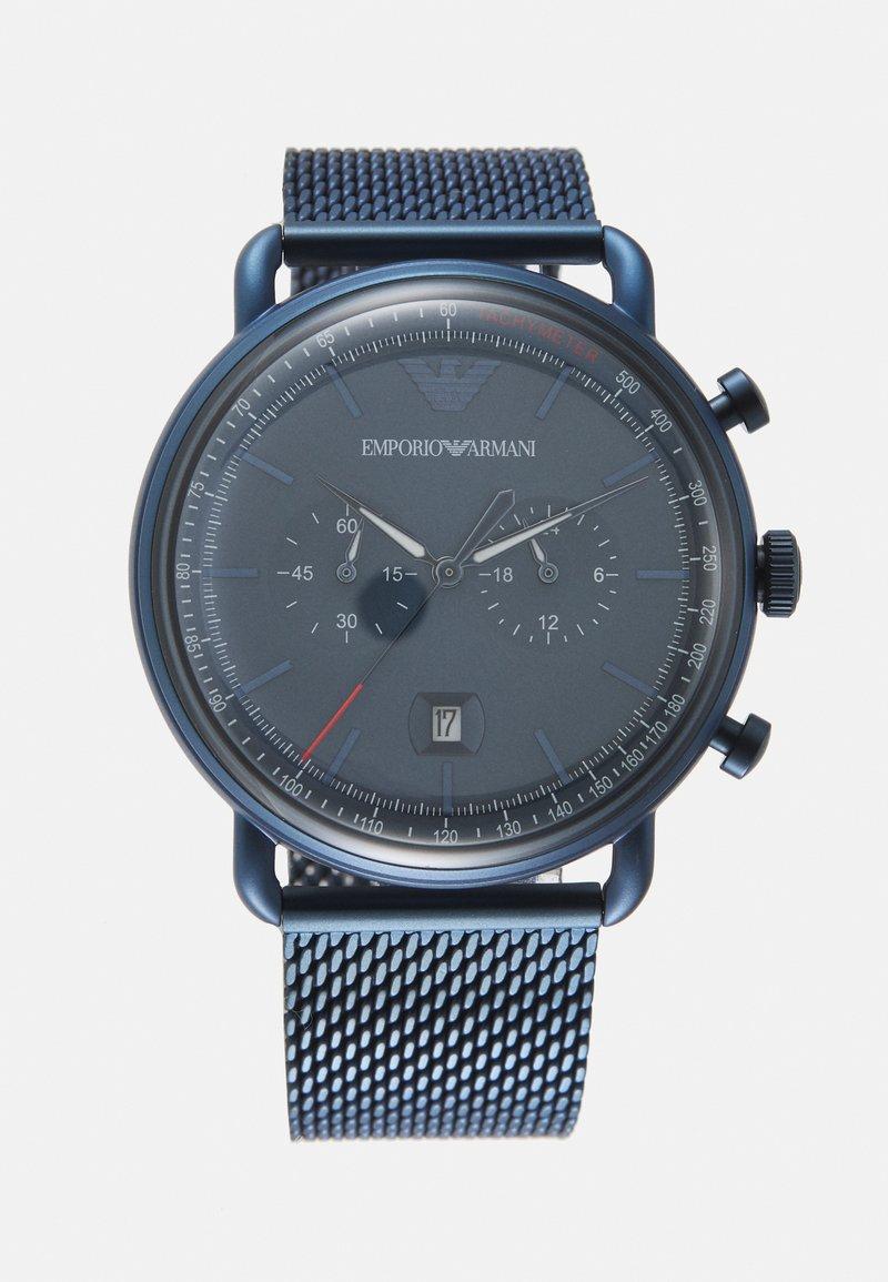 Emporio Armani - Kronografklockor - blue