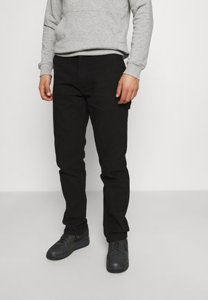 WORKWEAR CARPENTER PANTS - Trousers - black