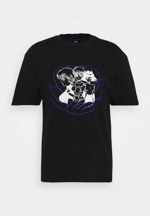 FLOWER GIRLS - T-shirts med print - black