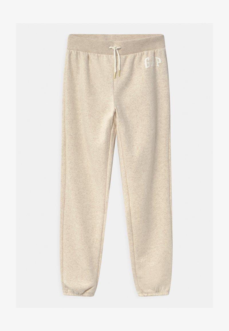 GAP - GIRL LOGO - Teplákové kalhoty - oatmeal heather