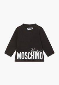 MOSCHINO - Top sdlouhým rukávem - black - 0