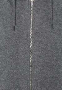 NA-KD - NA-KD X ZALANDO EXCLUSIVE ZIP HOODIE - Sweat à capuche zippé - dark grey - 6