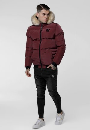 DISTANCE JACKET - Vinterjakker - burgundy