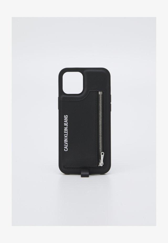 PHONE CASE LANYARD COIN UNISEX - Mobilveske - black
